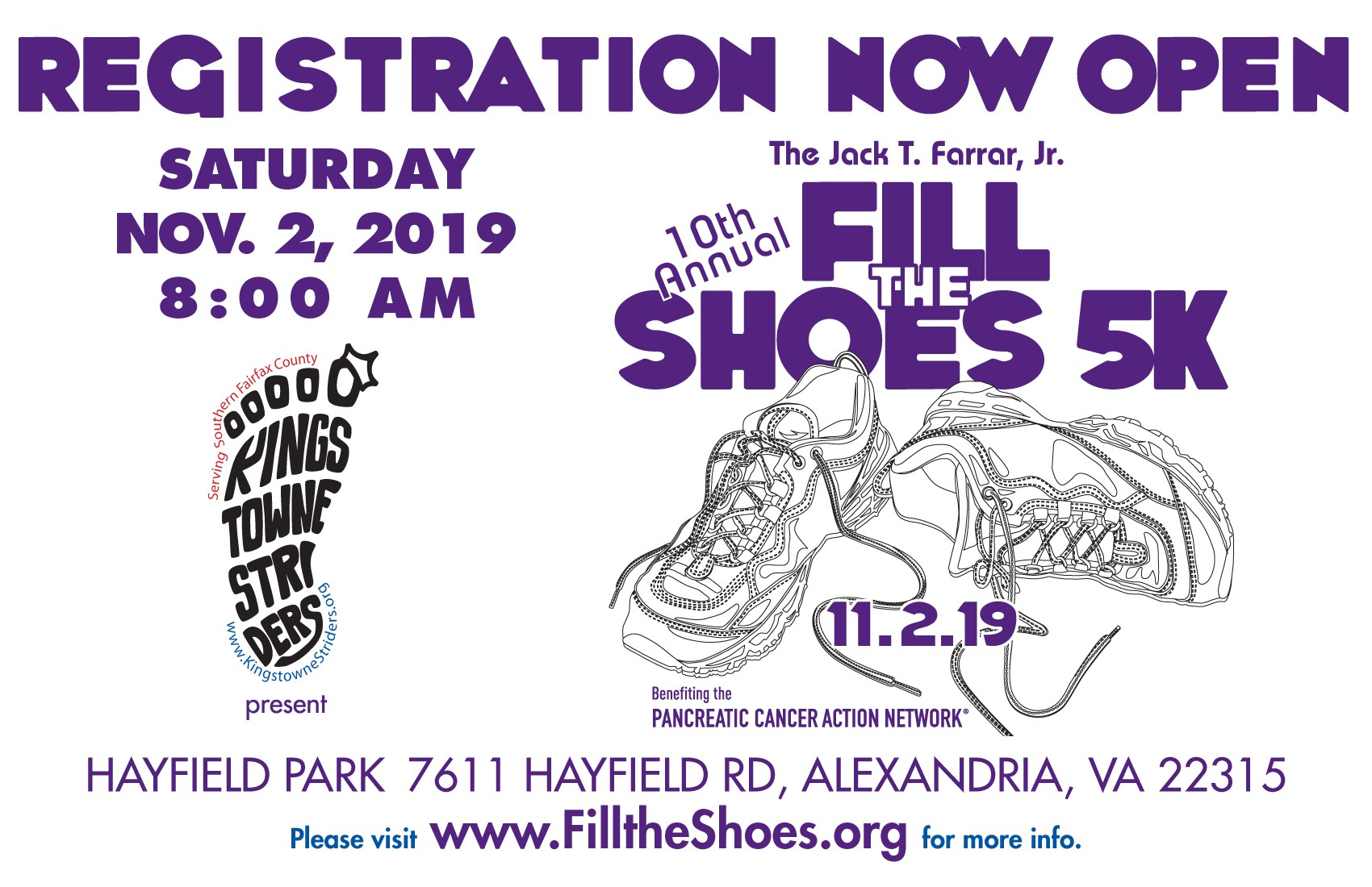 Fill The Shoes Flyer