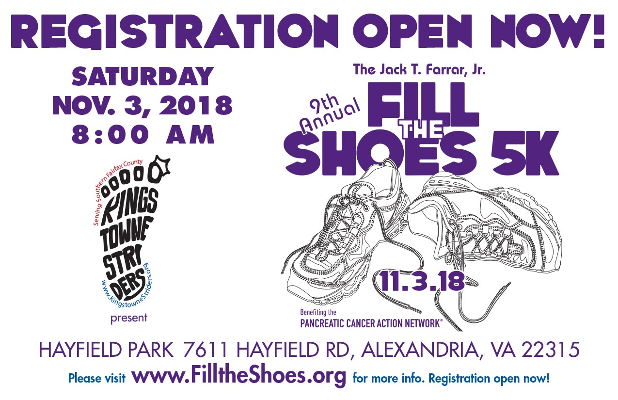 FIll the Shoes 5k registration is open